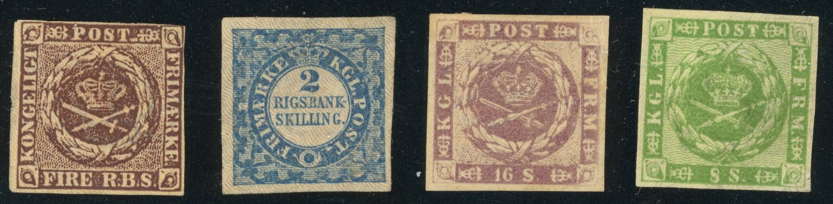 The first danish stamp