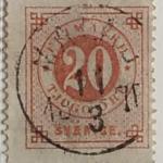 Facit 23c - Pale red