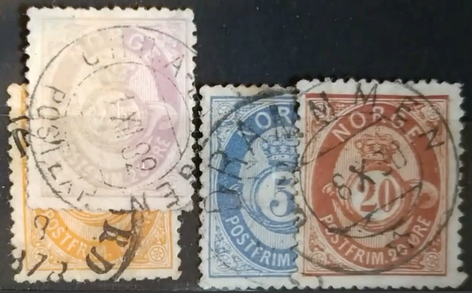 Sunlight, the curse of classical stamps