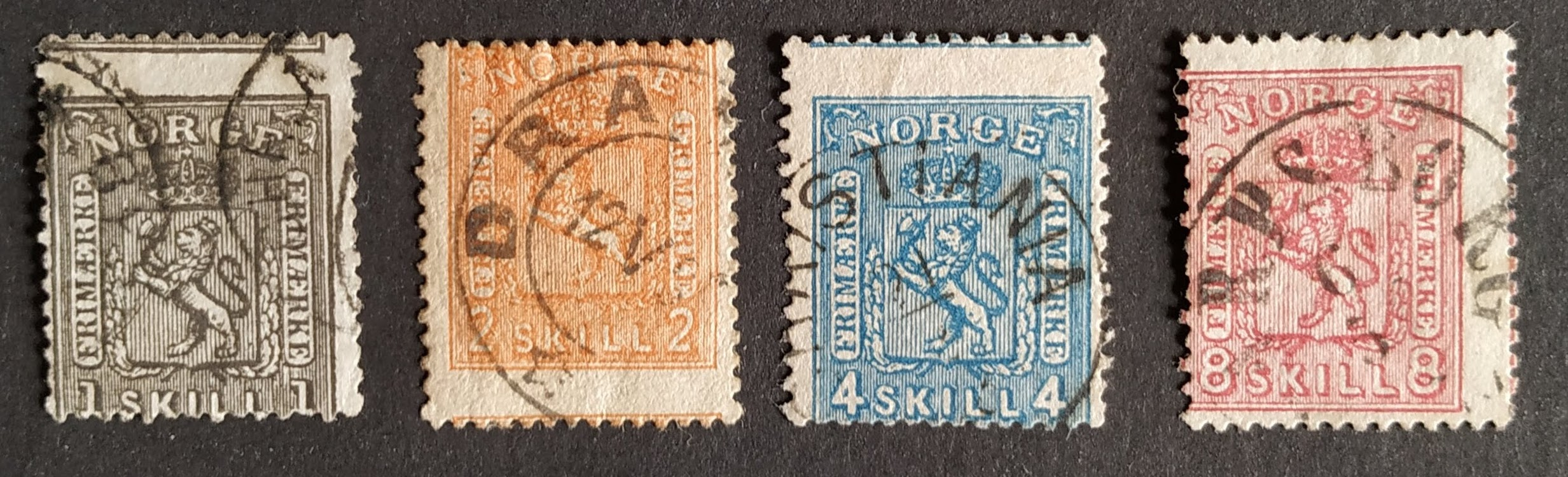 Perforation of stamps in the 1860s